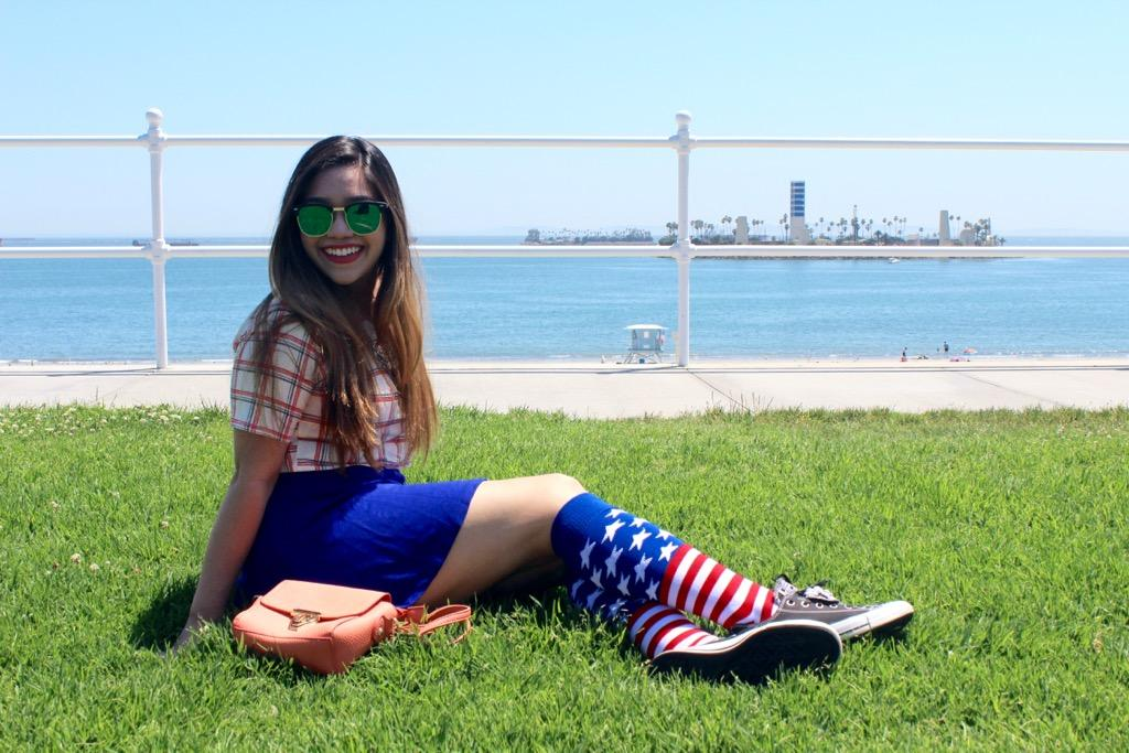 Fourth of July Outfit: Knee High Socks