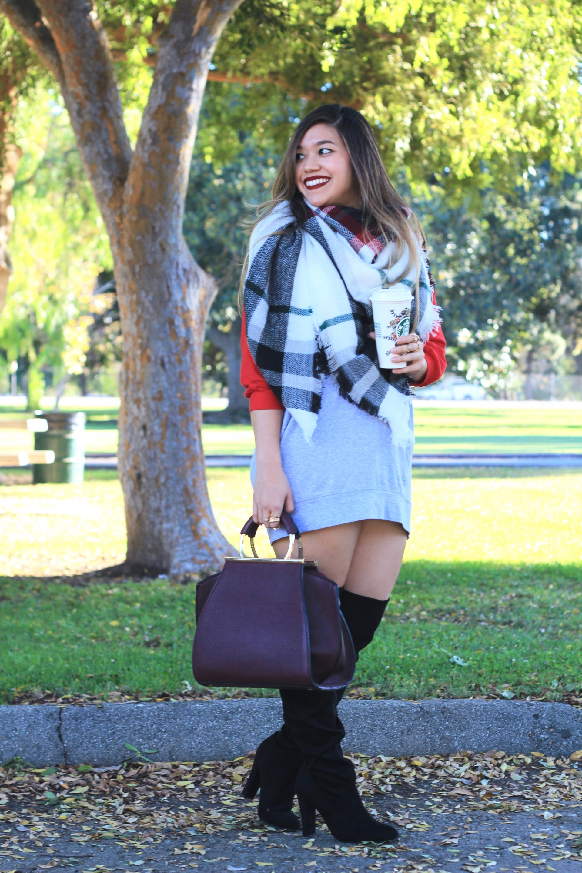 Over The Knee Boots Lace Up