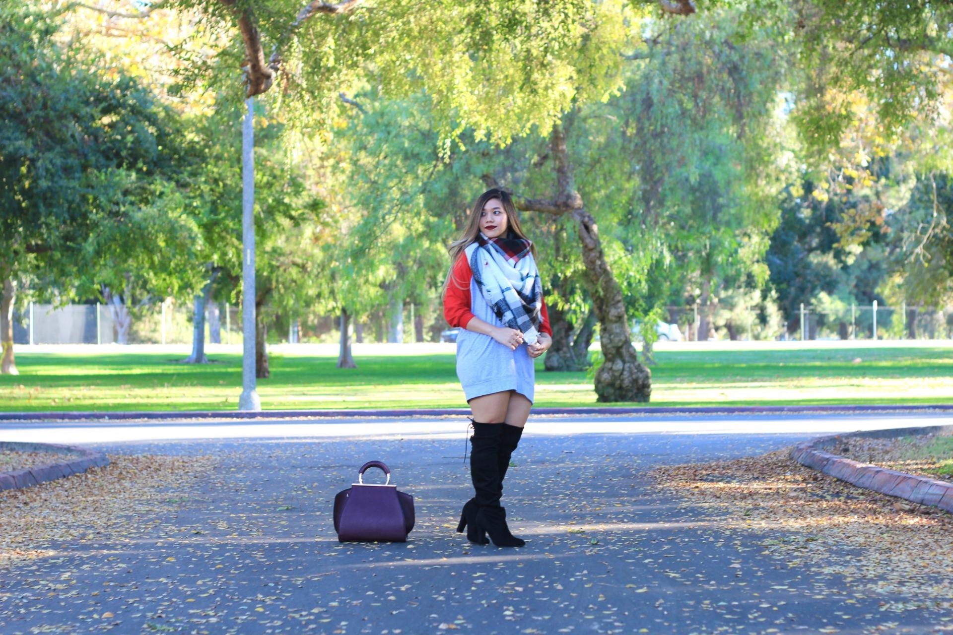 Over the Knee boots fall look