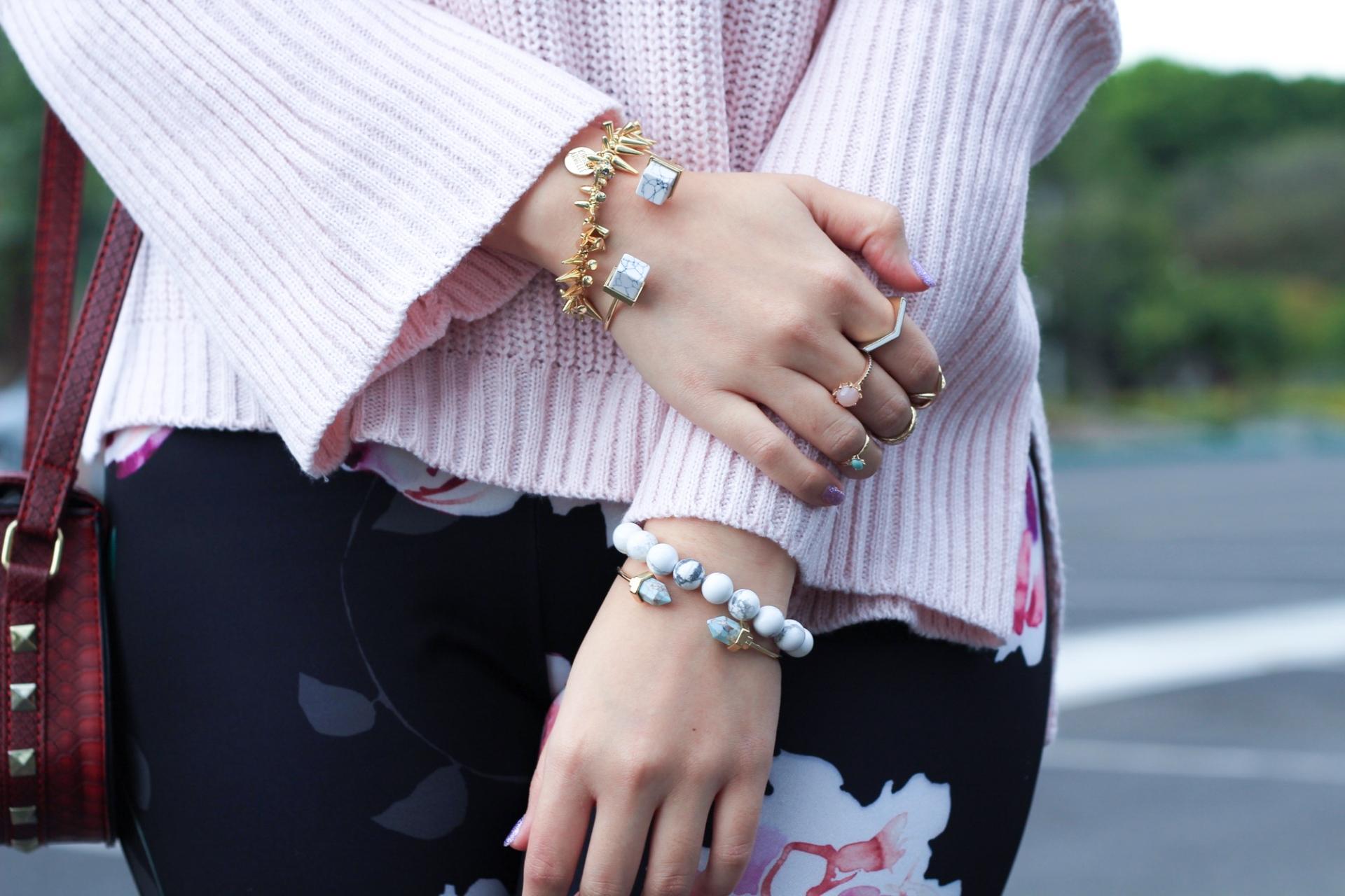 marble cuff bracelets