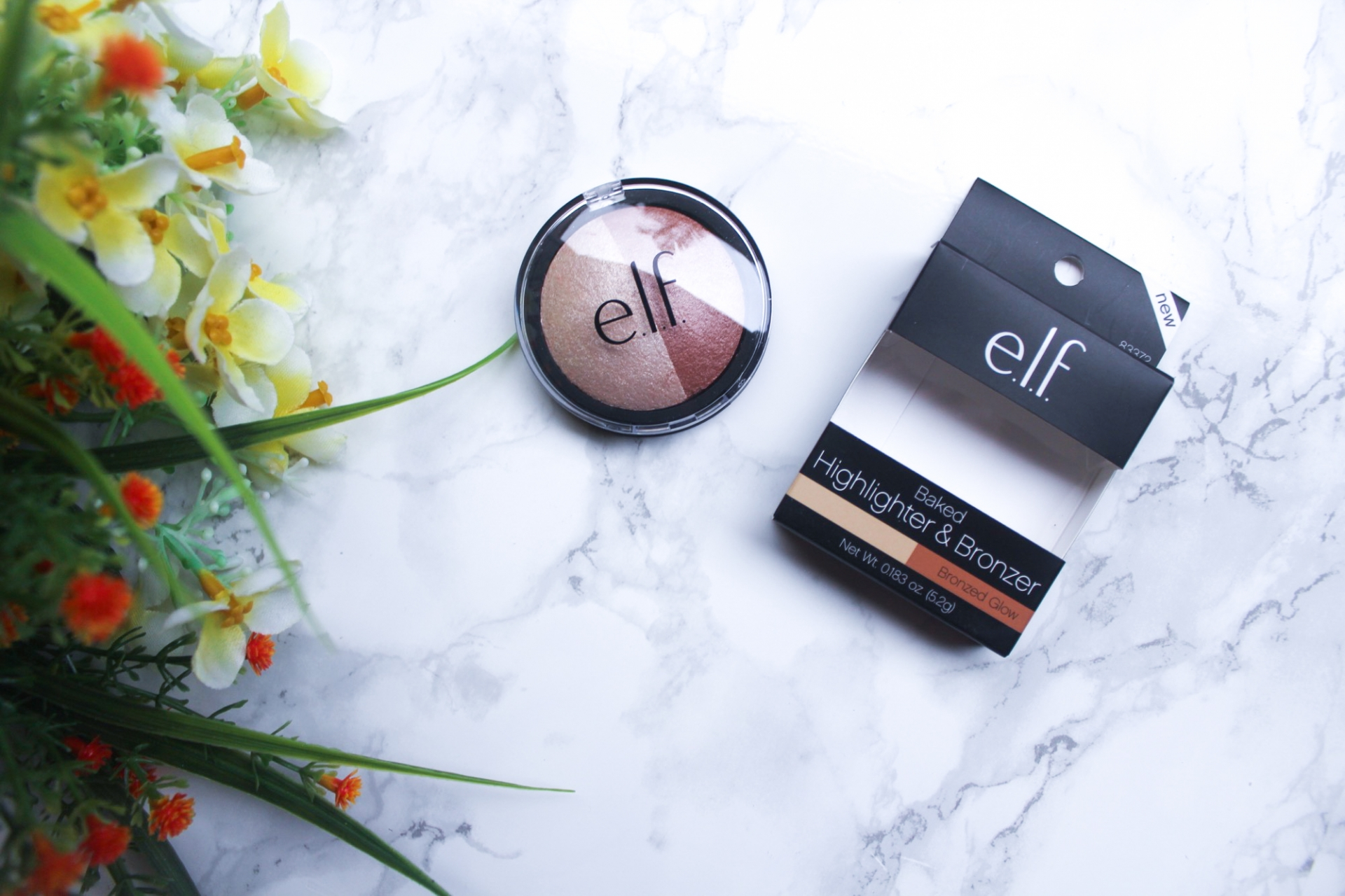 Elf Baked Highlighter & Bronzer