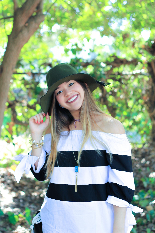 Olive Green Floppy Hat