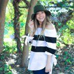 Olive Green Felt Hat