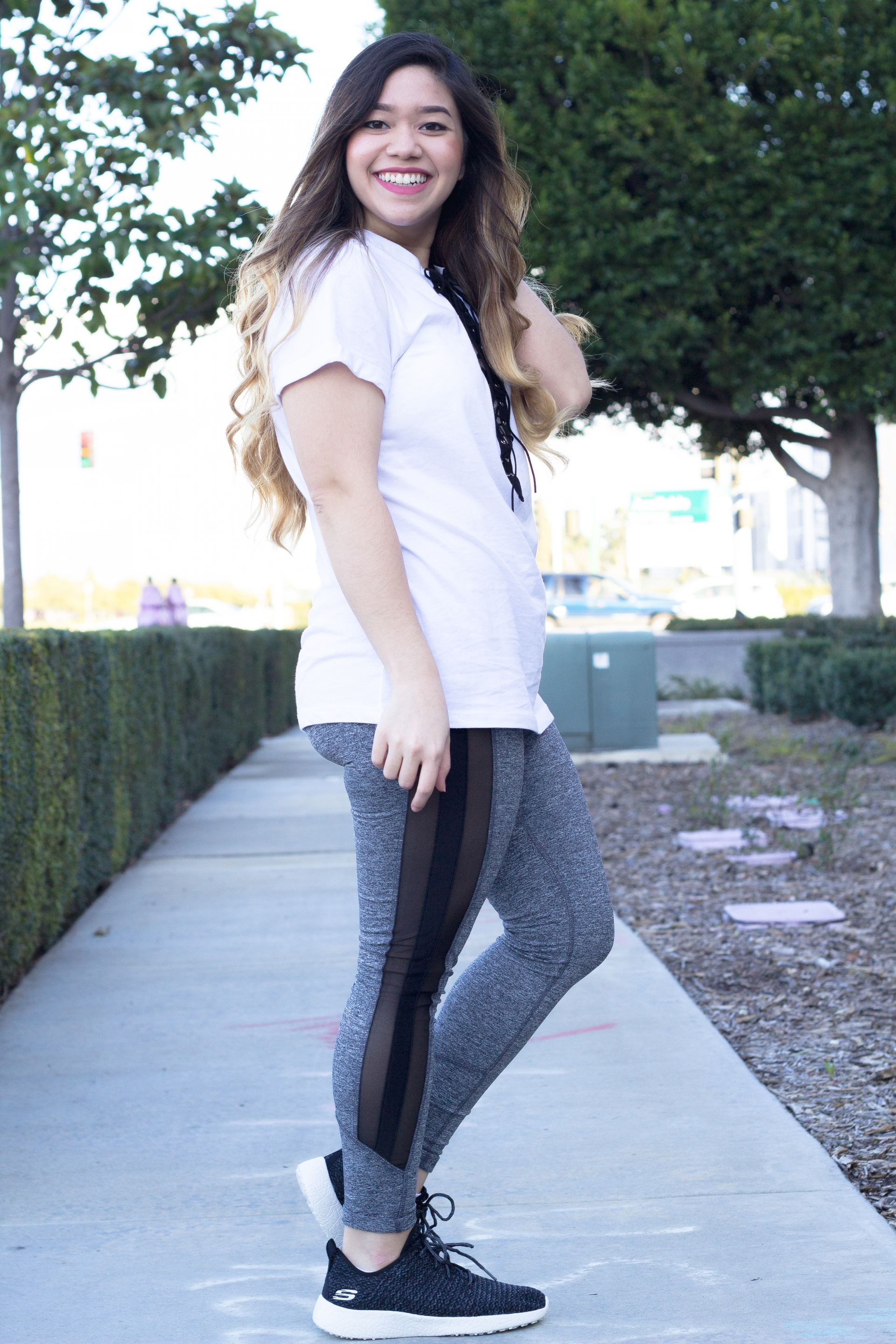 Mesh Workout Leggings