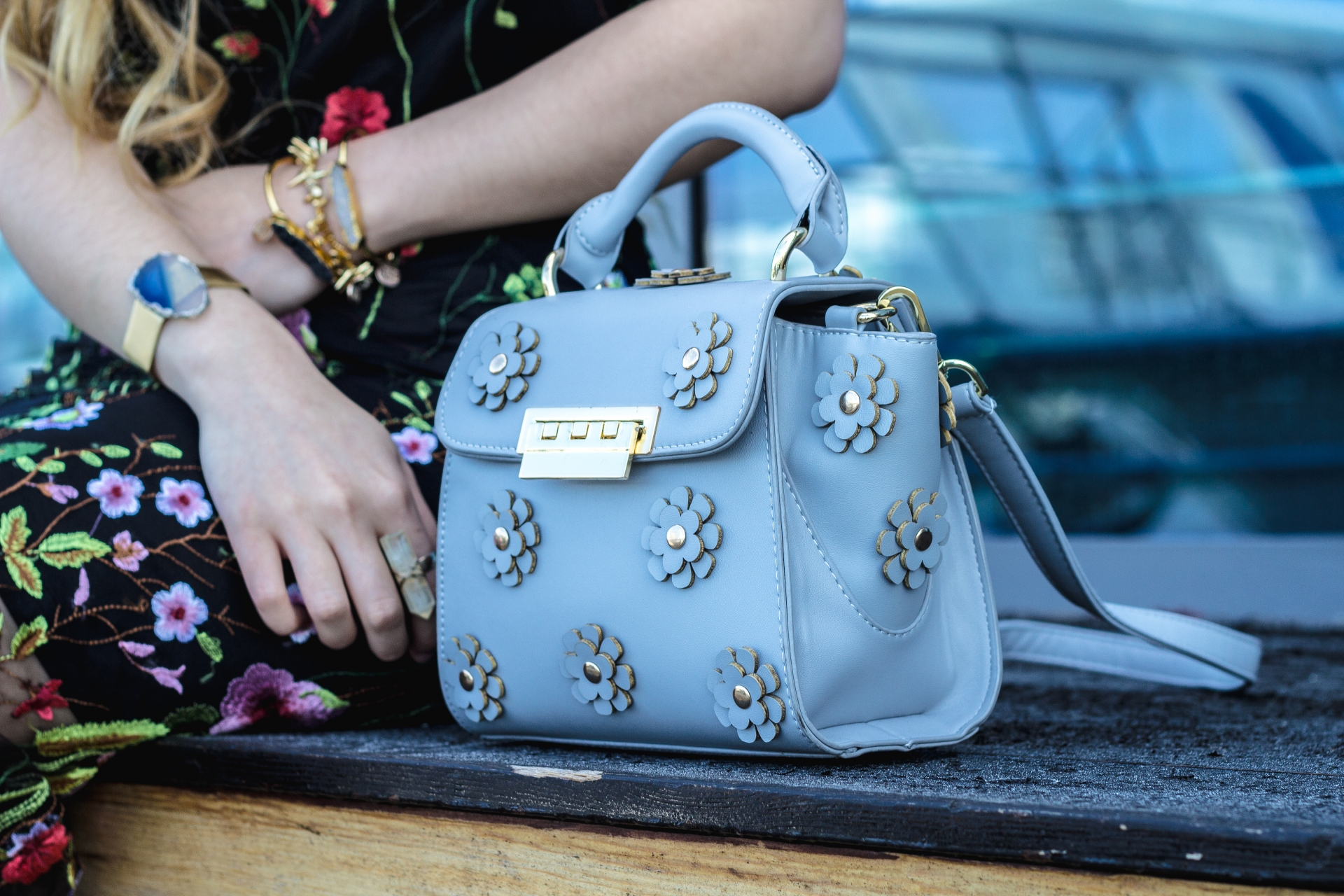 Zac Posen Eartha Floral Bag