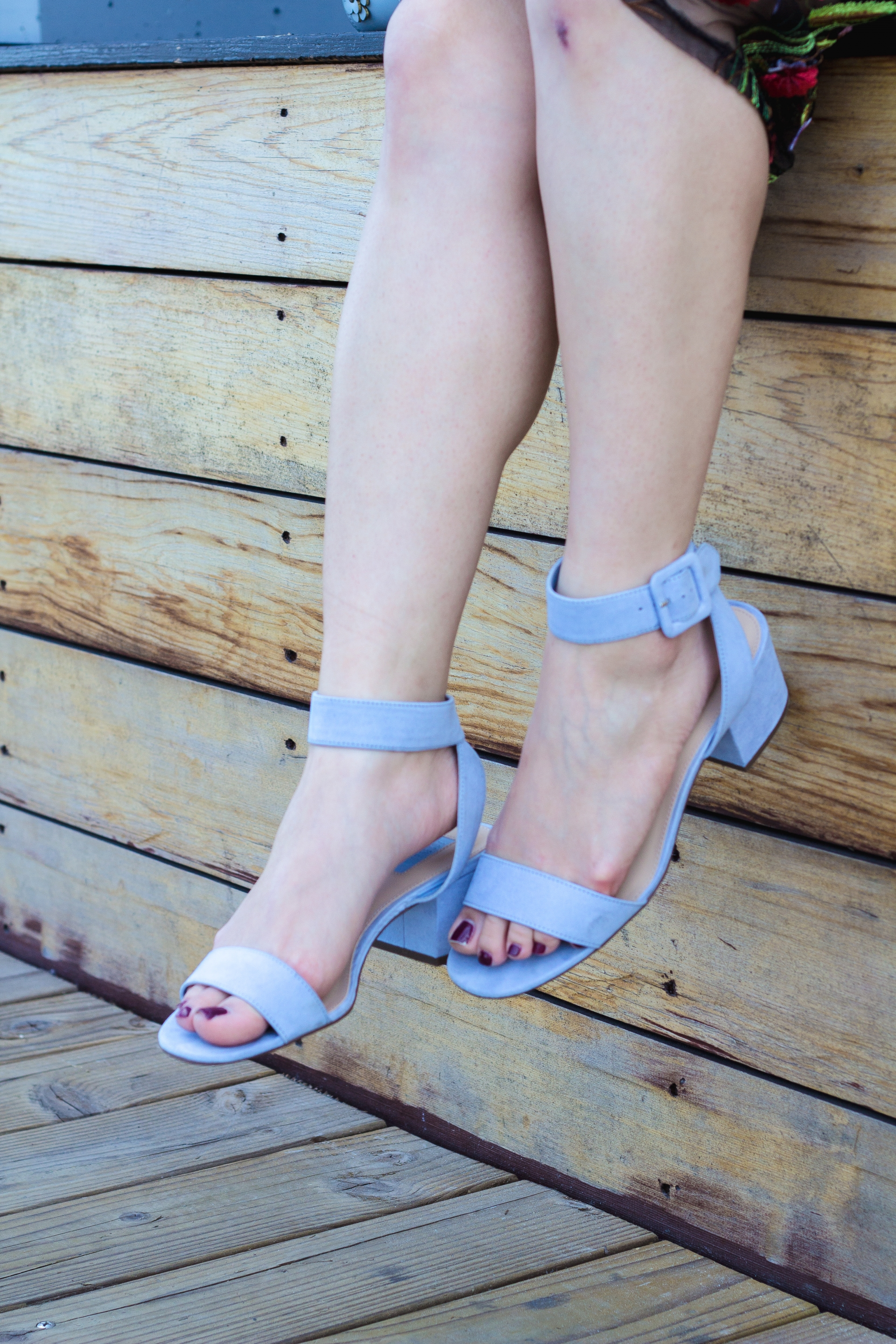 Periwinkle Blue Sandals