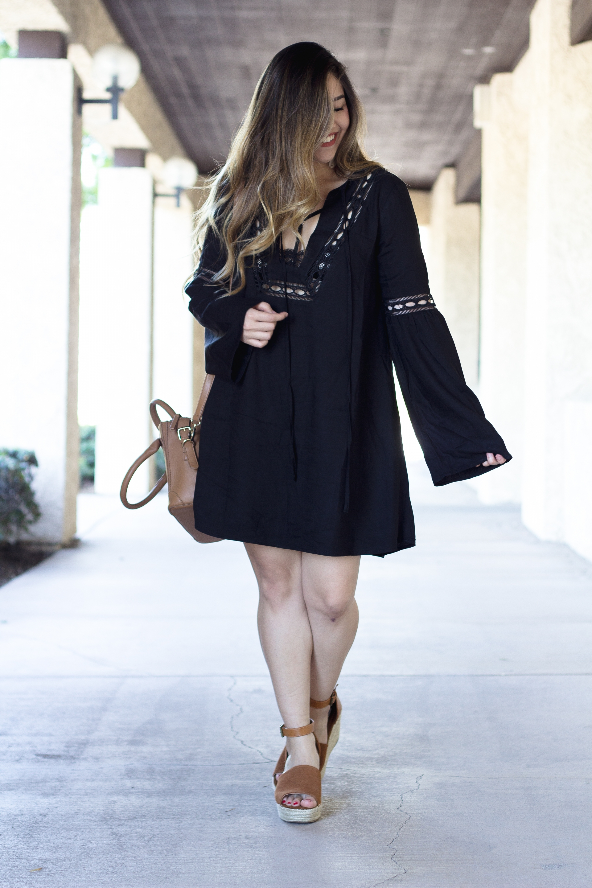 Tobi Tyrell Boho Shift Dress