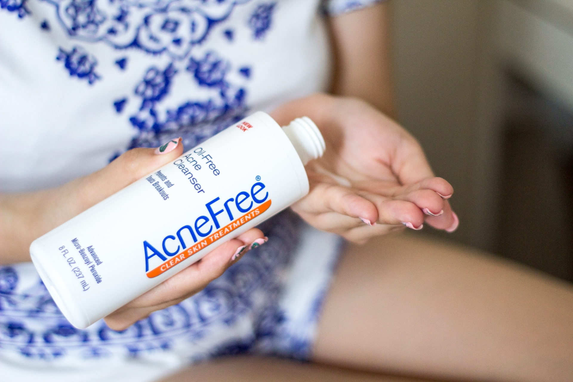 AcneFree Oil-Free Acne Cleanser