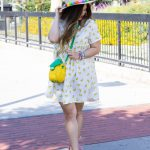 Fruit-Fashion-Trend-Banana-Print-Babydoll-Dress