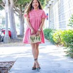 cute-red-gingham-dress