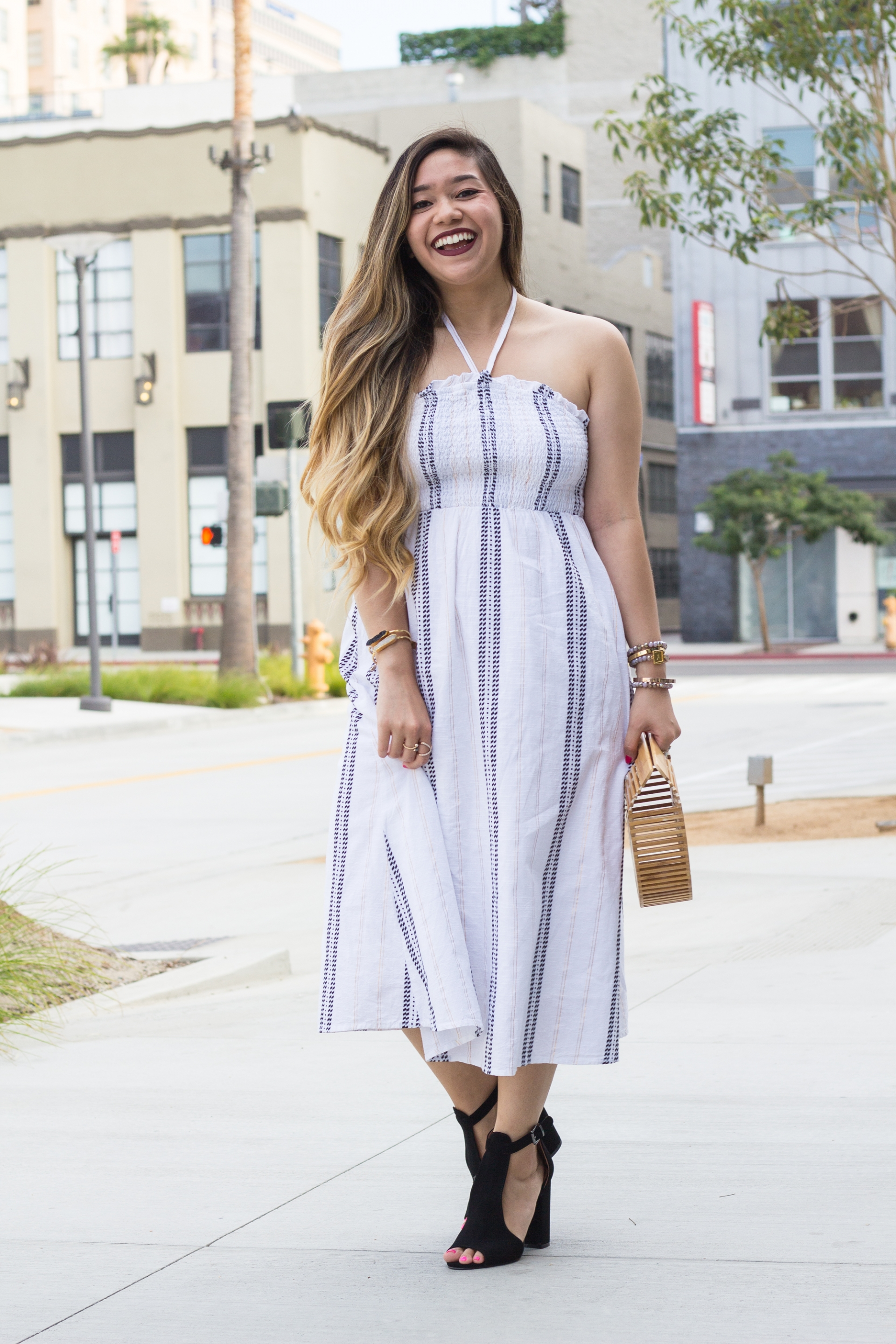 Old-Navy-Fit-And-Flare-Halter-Dress-Mix-And-Match-Prints