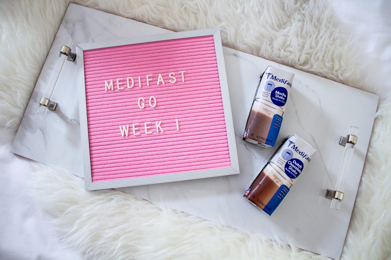 Medifast Go! Weight Loss Plan: Week 1