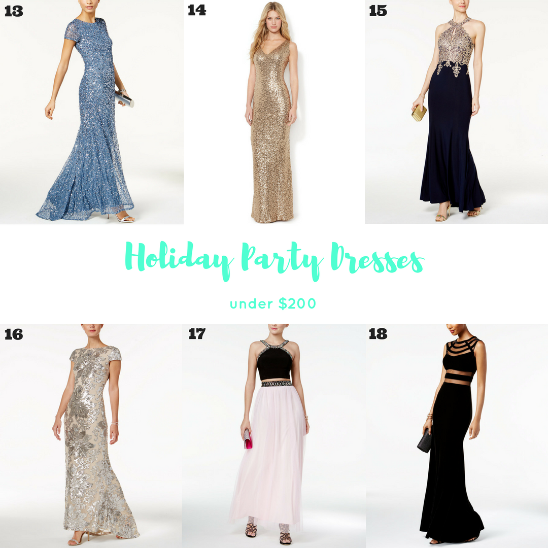 Holiday-Party-Dresses-Under-$200-Macy's-Cyber-Monday-Sale-Deal