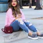 Shein-Open-Back-Tie-Back-Top-ASOS-Statement-Bow-Sneakers-As-Seen-On-Me