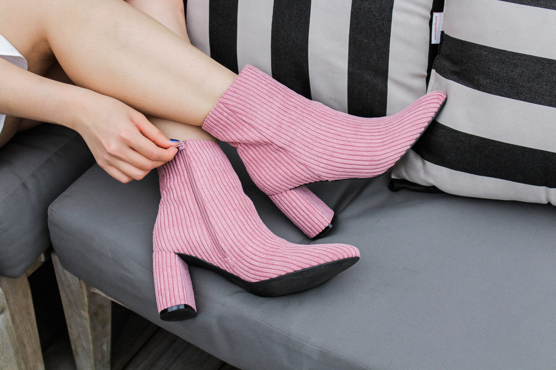 NAKD Baby Pink Booties