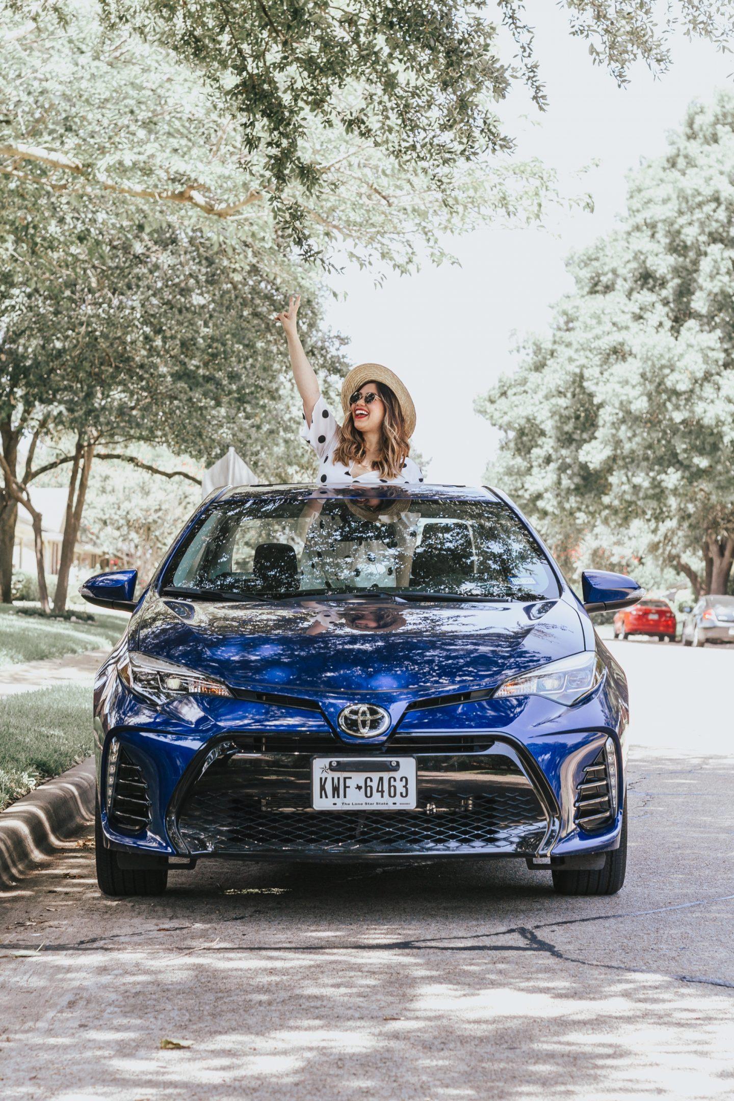 Texas Bound with Toyota Corolla XSE