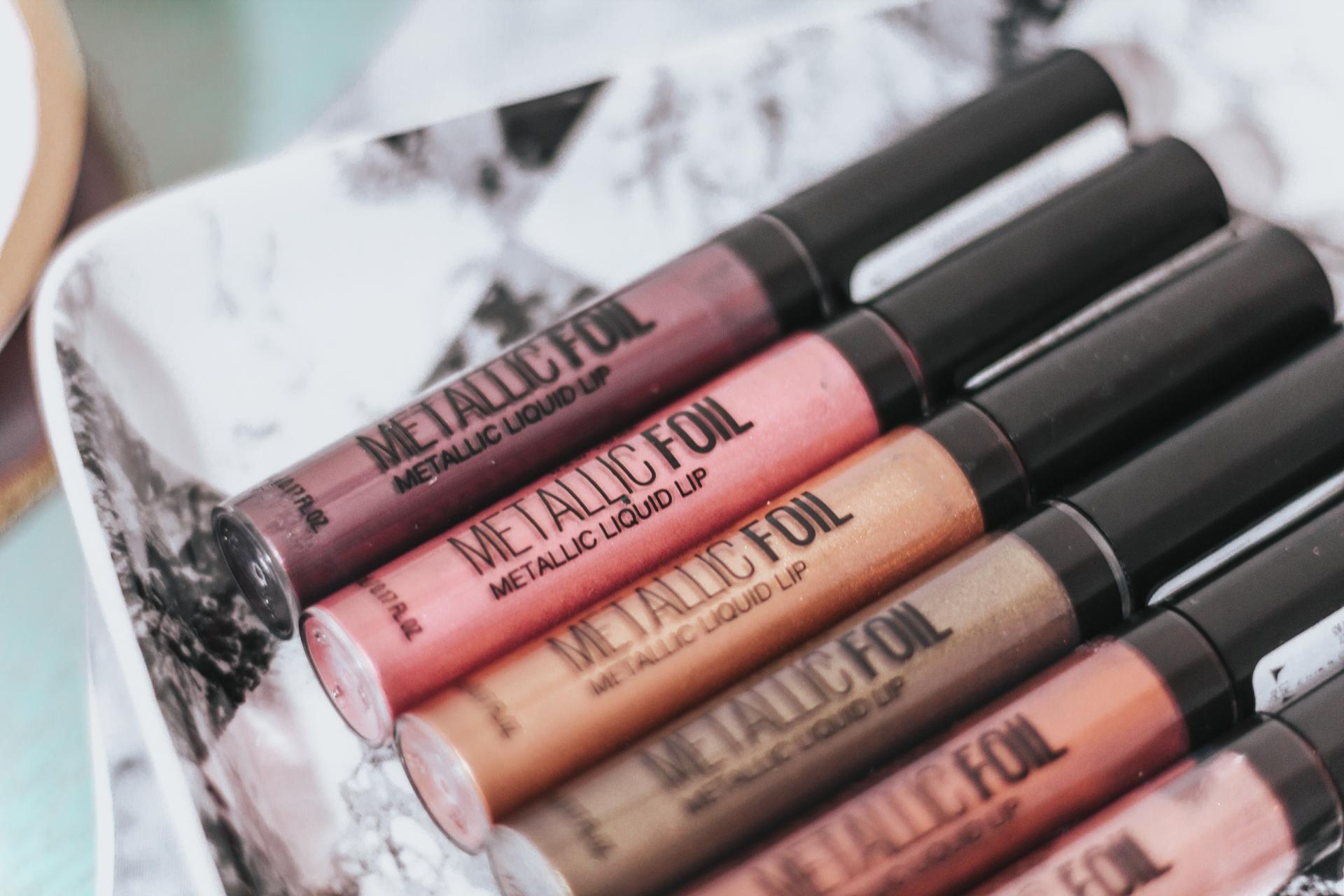 Maybelline Lip Studio Metallic Foil Metallic Liquid Lipstick