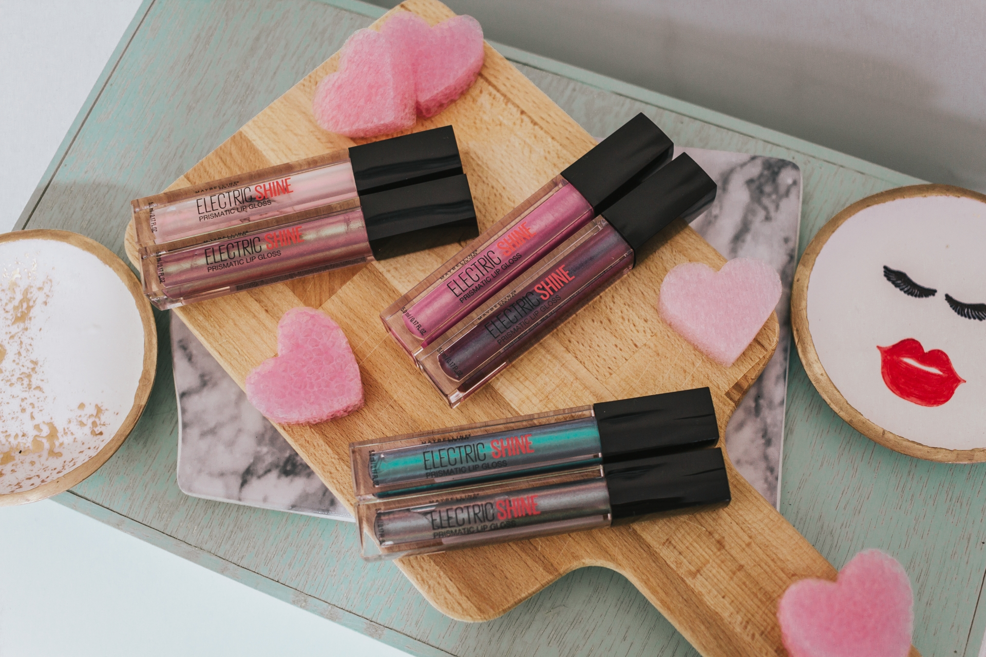 Maybelline Lip Studio Electric Shine Prismatic Lip Gloss