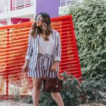 Striped Blazer and Belted Shorts Suit Set Red Dress Boutique Brahmin Mini Priscilla Topsail Cognac Qupid Shoes Signal-36 Heart Shape Sunglasses Amazon Fashion The Saguaro Palm Springs