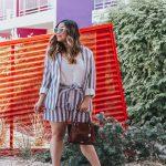 Striped Blazer and Belted Shorts Suit Set Red Dress Boutique Brahmin Mini Priscilla Topsail Cognac Qupid Shoes Signal-36 Heart Shape Sunglasses Amazon Fashion The Saguaro Palm Springs