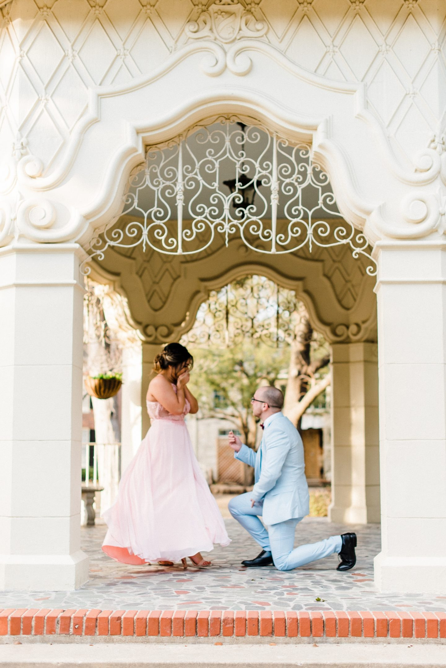 How a Valentine's Day Photoshoot Turned into a Proposal