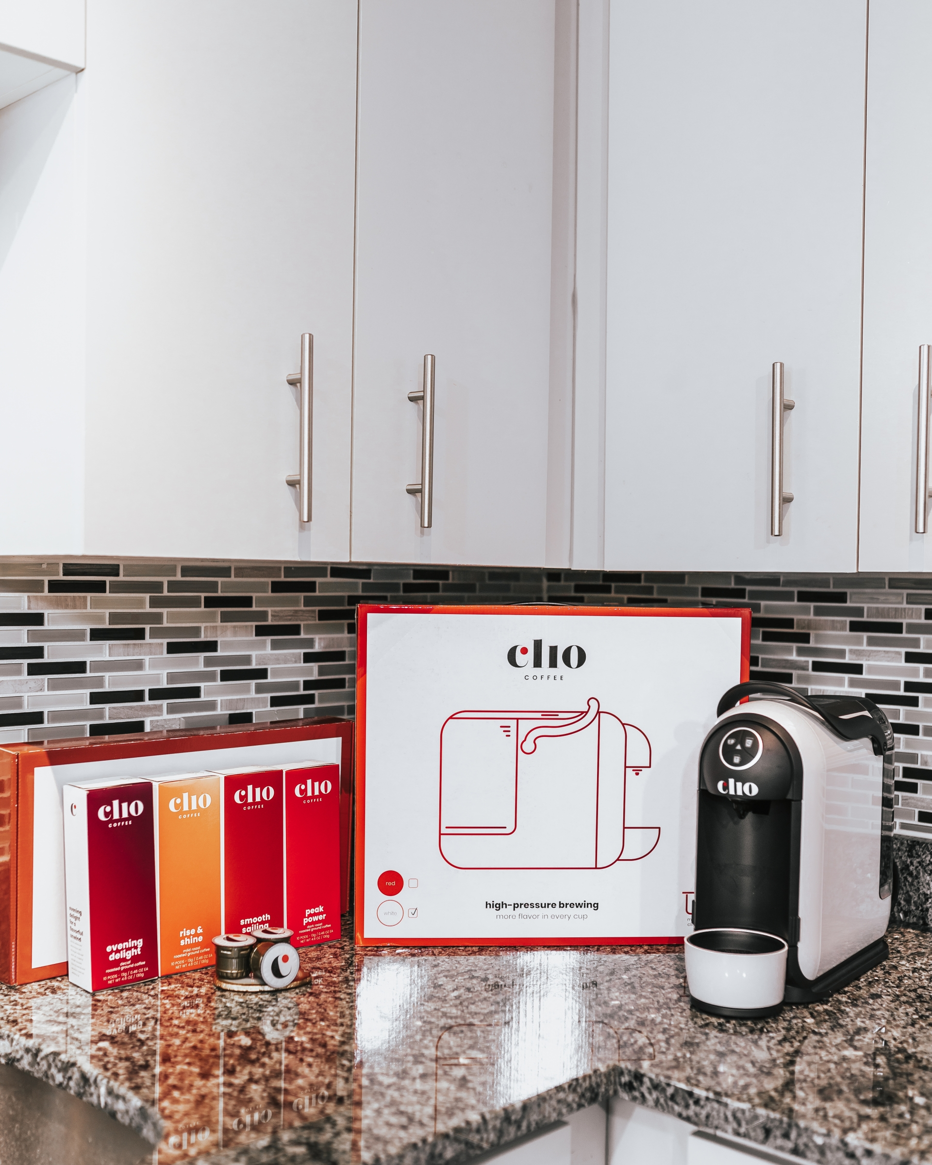 Clio Coffee Subscription Based Coffee System Coffee Machine Coffee Pods Single Serve Coffee Machine Keurig K-cup single cup brew k pods coffee maker coffee brewer coffee blends iced coffee at home espresso americano iced latte