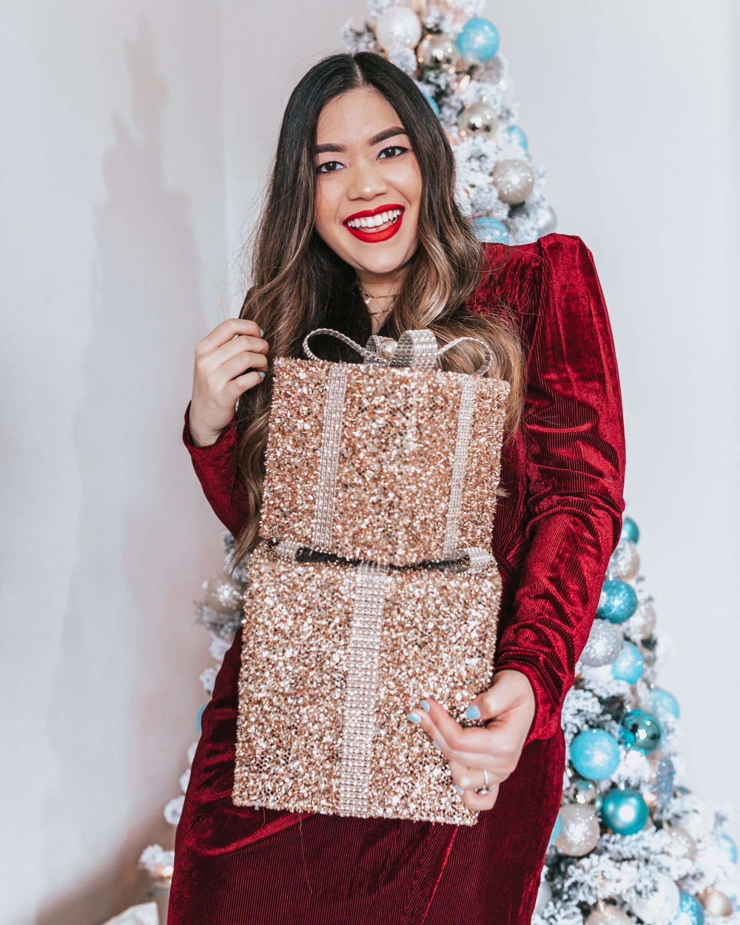 Under $150 Nordstrom Holiday Dresses and Gifts