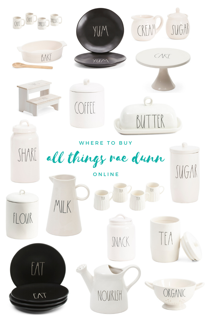 Where to Buy All Things Rae Dunn Online