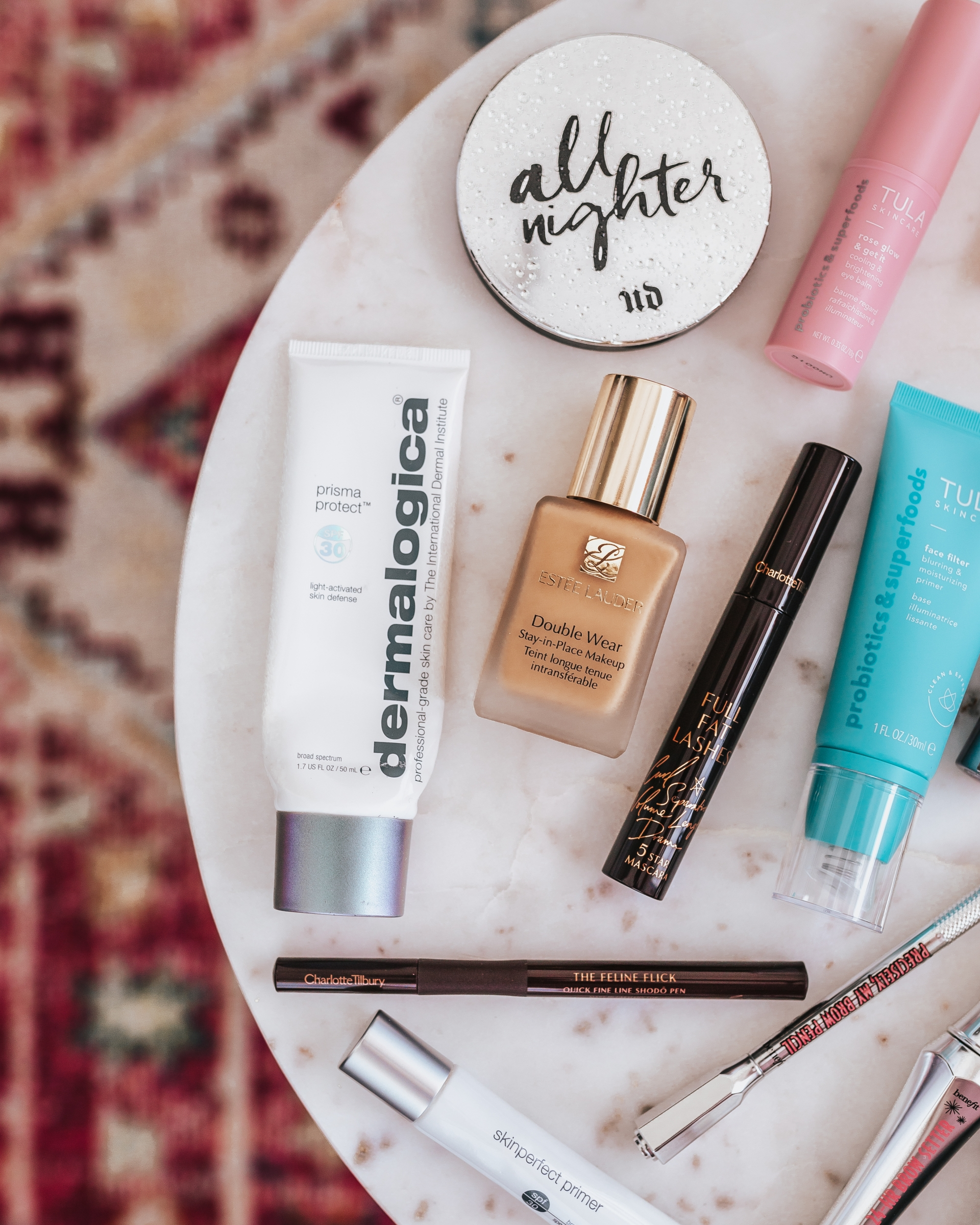 Summer Beauty Favorites from Nordstrom Charlotte Tilbury TULA Dermalogica Urban Decay Benefit Estee Lauder Step by Step Easy Summer Beauty Routine Makeup Routine Nordstrom Beauty Nordstrom Sale Nsale Nordstrom Anniversary Sale